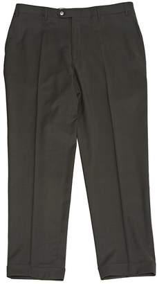 Corneliani Khaki Wool Trousers