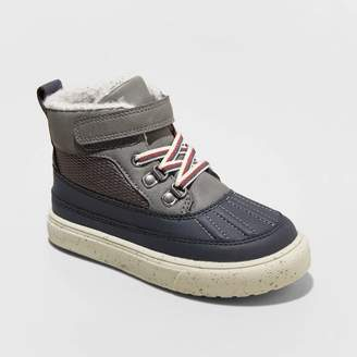 Cat & Jack Toddler Boys' Gray son Fashion Boots Gray