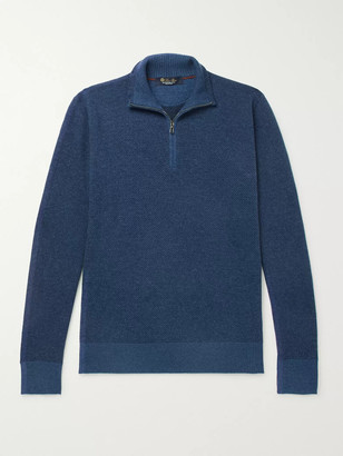 Loro Piana Roadster Cashmere Half-Zip Sweater