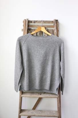 Jumper 1234 - Grey Oversized Cashmere Knit - 1 - Grey