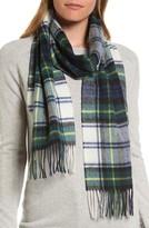 Barbour Women's 'Shilhope' Plaid Wool Scarf