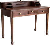 One Kings Lane Vintage 3-Drawer Mahogany Desk