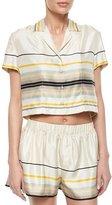 Rag & Bone Layne Short-Sleeve Striped Top