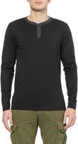 Saturdays Surf NYC Nolan Cotton-Jersey Henley T-Shirt