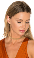 8 Other Reasons Ballchain Choker in Metallic Gold.