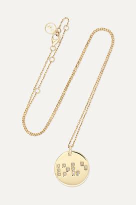 Anissa Kermiche Love Is Blind 9-karat Gold Diamond Necklace