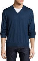 Stefano Ricci Cashmere-Silk V-Neck Sweater