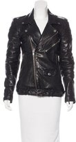 BLK DNM Leather Motorcycle Jacket