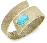 House Of Harlow Tanta Stone Accented Textured Cuff