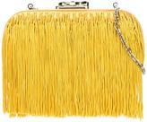 Corto Moltedo 'Susan C Star' fringed clutch - women - Silk/Nappa Leather - One Size