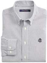 Brooks Brothers Boys' Non-Iron Club-Stripe Shirt
