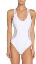 Milly Women's Netting Martinique One-Piece Swimsuit