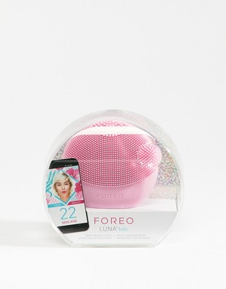 Foreo LUNA fofo Smart Facial Cleansing Brush in Pearl Pink