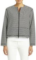 Lafayette 148 New York Women's Vivienne Stripe Jacket