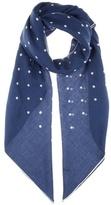 Loro Piana Ascot cashmere and silk-blend scarf