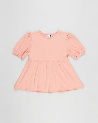 Cotton On Girl's Pink Shirts & Blouses - Carla Puff Sleeve Top - Kids-Teens - Size 3 YRS at The Iconic