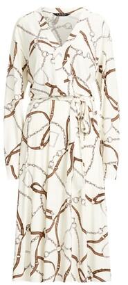 Lauren Ralph Lauren Ralph Lauren Print Jersey Fit-and-Flare Dress