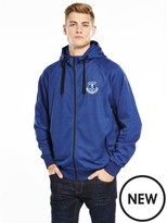 Everton Source Lab Fc Mens Raglan Zip Through Hoody