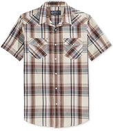 American Rag Men's Plaid Short-Sleeve Shirt, Only at Macy's