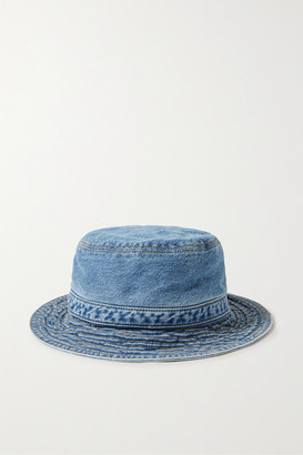 Ganni Organic Denim Bucket Hat - Blue