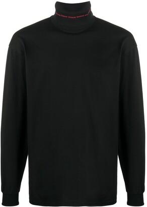 MSGM plain long sleeve T-shirt