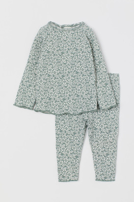 H&M Top and Pants - Green