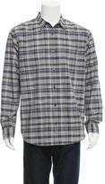 Vince Printed Woven Shirt w/ Tags