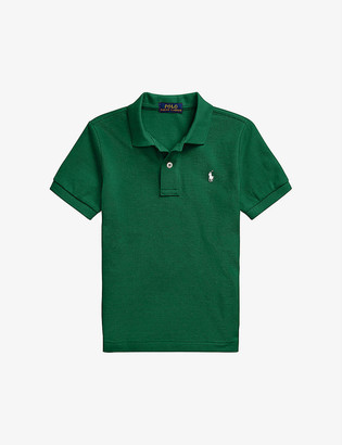 Ralph Lauren Logo-embroidered cotton polo shirt 2-7 years