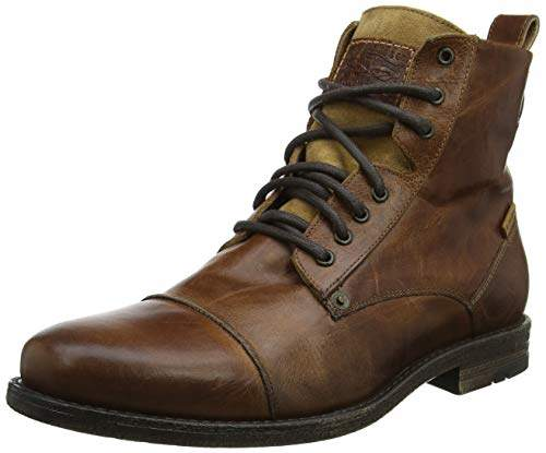 Levi's Footwear and Accessories Men's Emerson Slouch Boots, Medium Brown 27