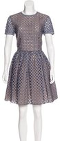 Michael Kors Eyelet A-Line Dress