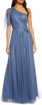 Marchesa One-Shoulder A-Line Bridesmaid Gown