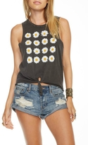 Chaser Daisies Tie Tank