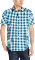 Nautica Men's Check Short Sleeve Shirt