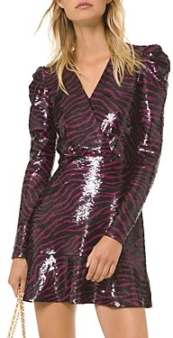 MICHAEL Michael Kors Sequined Tiger Mini Dress