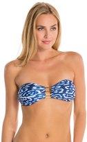 Vix Paula Hermanny Kai Blue Steps Bandeau Bikini Top 8129909