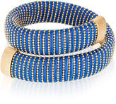 Carolina Bucci Cobalt Caro Gold-Plated Bracelet