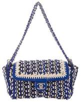 Chanel Crochet Accordion Flap Bag