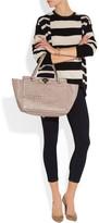 The Rockstud medium leather trapeze bag