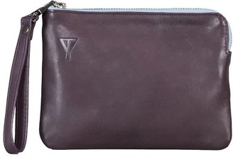 Taylor Yates Doris Clutch In Plum