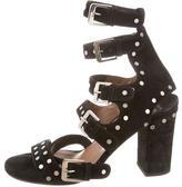Laurence Dacade Suede Multistrap Sandals