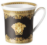 Versace Baroque Nero Mug with Handle