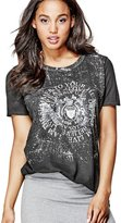 """GUESS Short-Sleeve Sequined """"81"""" Tunic"""