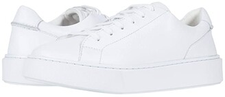 Clarks Hero Lite Lace (White Leather) Men's Shoes