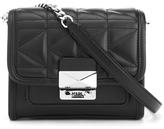 Karl Lagerfeld Women's K/Kuilted Mini Cross Body Bag Black