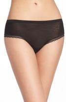 OnGossamer Women's Modern Mesh Panties