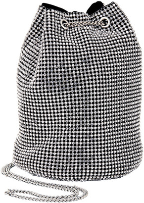 Whiting & Davis Crystal Bucket Bag