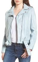 Schott NYC Women's Perfecto Distressed Leather Boyfriend Jacket