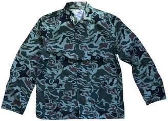Green Cotton Supreme Jackets