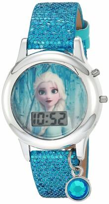 Disney Girls' Quartz Watch with Rubber Strap Multicolor 13 (Model: FZN45004AZ)