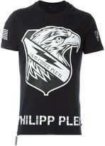 Philipp Plein eagle print T-shirt